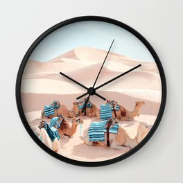 Marrakech Wall Clock