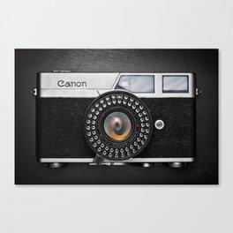 Classic Canon Canvas Print