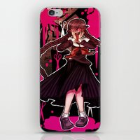 dangan ronpa iPhone & iPod Skins featuring Syo by mad-maddie