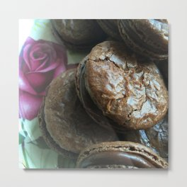 I love you more than Macaroons Metal Print