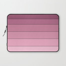 Colorful geometric pattern in shades of pink . Laptop Sleeve