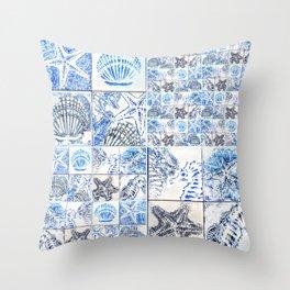 Oceans 4X by Raffa Throw Pillow