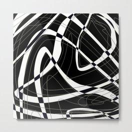 Tangles II Metal Print