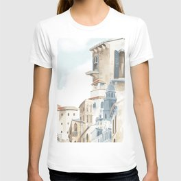 Mediterranean city2 T-shirt