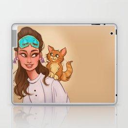 Holly & Cat Laptop & iPad Skin