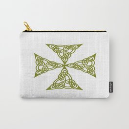 Lindisfarne St Johns Knot Grunge Carry-All Pouch
