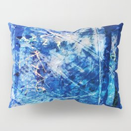 Sodalite Crystal from 52 Facets Zine Pillow Sham