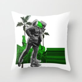 Moscow Jungles Throw Pillow