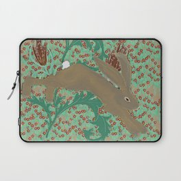 Rabbit in the Pimpernels Laptop Sleeve