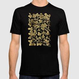 Cherry Blossoms – Gold Palette T-shirt