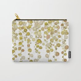 golden string of pearls watercolor 2 Carry-All Pouch