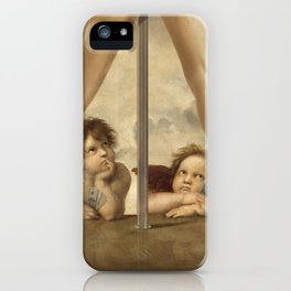 Not so Little Angels iPhone Case