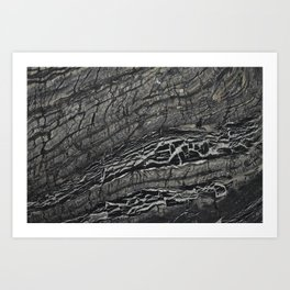 marble bk Art Print