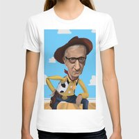 woody allen T-shirts featuring Woody Allen by Joshua Ang