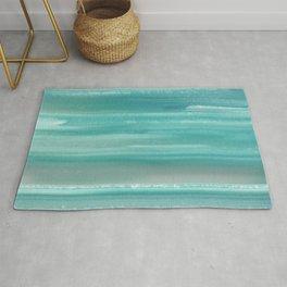 Turquoise Geode Rug