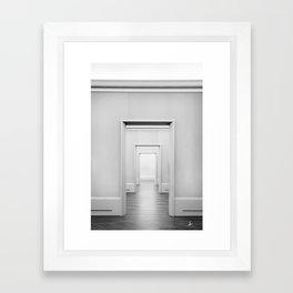 Doors Minimal Interior Framed Art Print