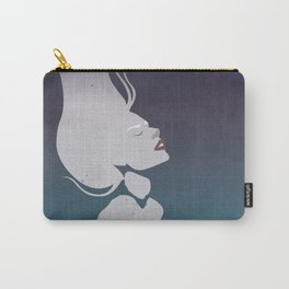 Floatinf Face Carry-All Pouch
