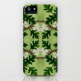 Olwen Hawthorn Panel iPhone Case