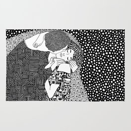 The Kiss. Gustav Klimt. 1907 Rug
