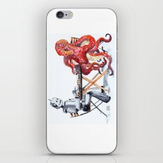 Robot Octopus Coffee Date iPhone & iPod Skin