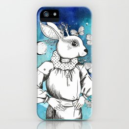 The Magic Of Moonbeams On A Midsummer Night iPhone Case
