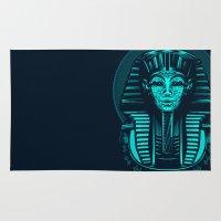 egypt Area & Throw Rugs featuring Egypt by nicksimon