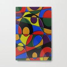 Abstract #223 Metal Print