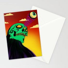 3rd eye open and dead inside Stationery Cards