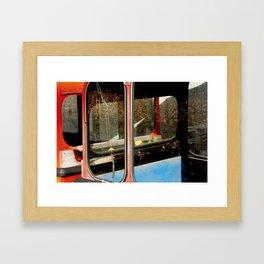 Ski Gondolas #2 Framed Art Print