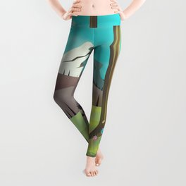 Wasatch-Cache National Forest Utah Leggings