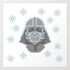 Merry Darth Vaderness   Art Print