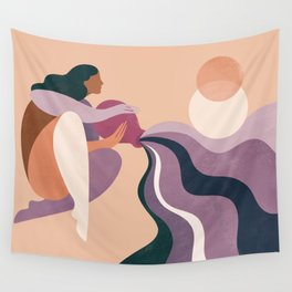 Aquarius Wall Tapestry
