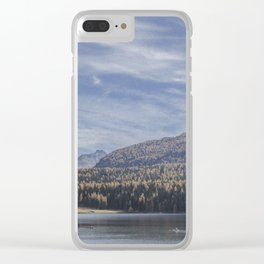 Switzerland Series: Awe-mazing view Clear iPhone Case
