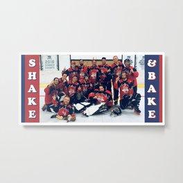 Shake n Bake Metal Print