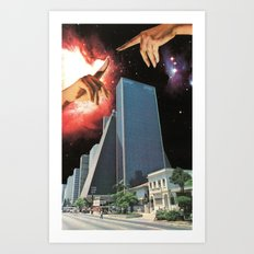 The Coming Of The Celestials Art Print