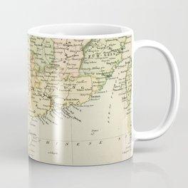 Vintage Map of The South Of China Coffee Mug