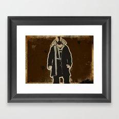 The Dark Knight: Bane Framed Art Print