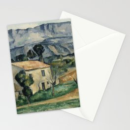 Paul Cezanne - House in Provence Stationery Cards