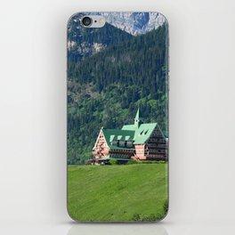 Prince of Wales Hotel in Waterton Lake Park iPhone Skin