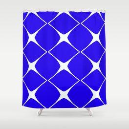 Avis Blue Shower Curtain