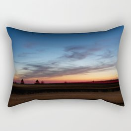 The Last Glimmers Rectangular Pillow