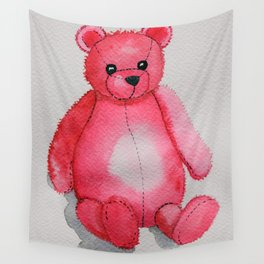 Rosy the Bear Wall Tapestry