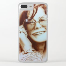 'Janis' Clear iPhone Case