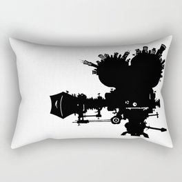 The Second City of Angels Rectangular Pillow