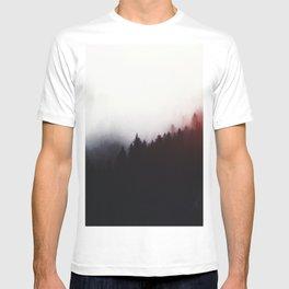 Watercolor woods T-shirt