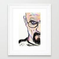 breaking Framed Art Prints featuring Breaking by Taste of Ink Designs