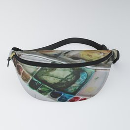 Autumn in Maine Working Palette Fanny Pack