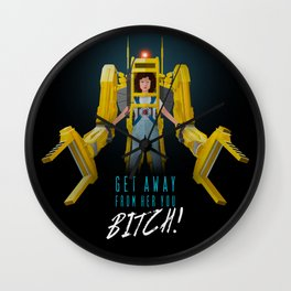 Get Away From Her You BITCH! Wall Clock