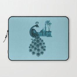 Blue peacock oriental dream Laptop Sleeve