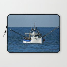 Fishing on the Sea 3 of 3 Starboard side view Laptop Sleeve